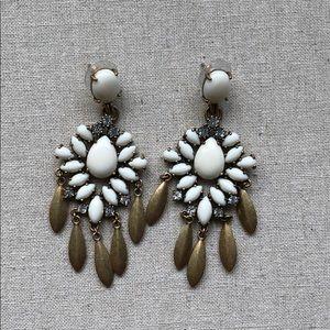 Stella Dot Mallorca Chandelier Statement Earrings